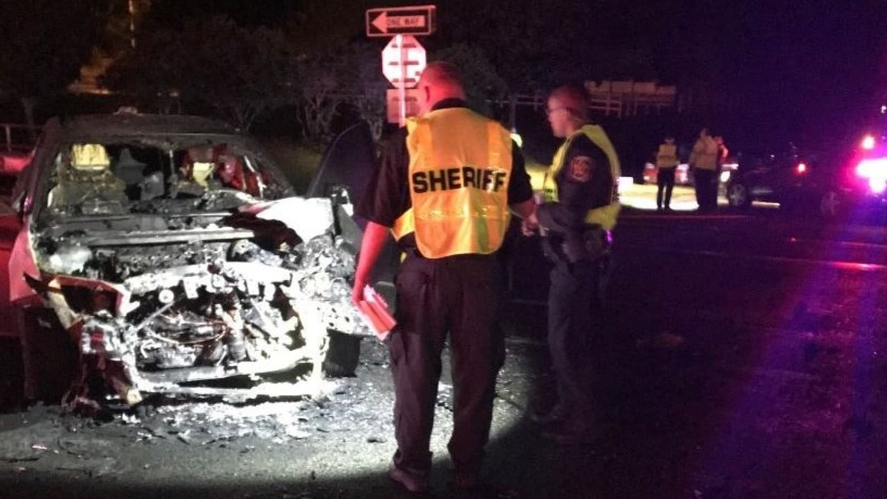 1 Dead, 3 Hurt After Rollover Crash in Polk County 1