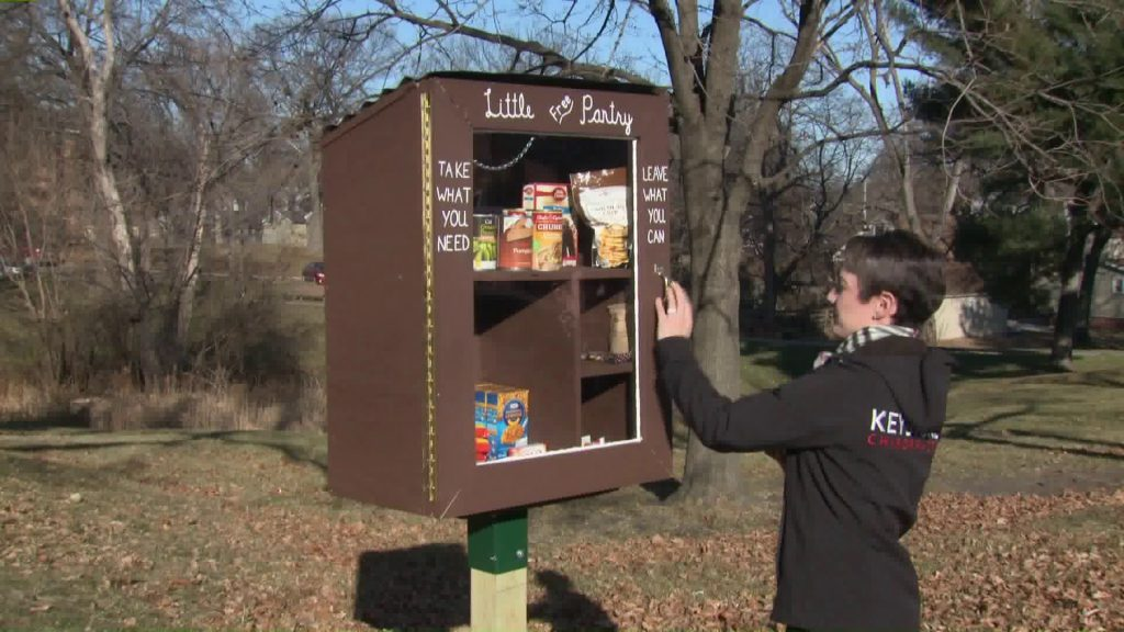 Beaverdale Couple Launch Little Food Pantry in Their Front Yard 2