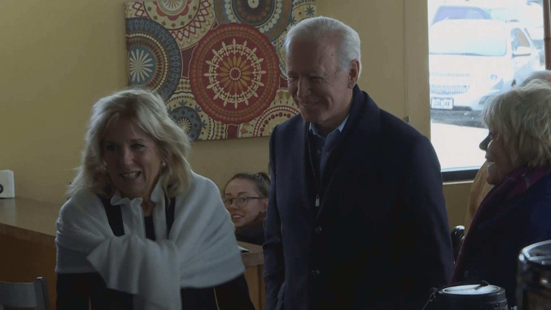 Biden Continues 'No Malarkey' Campaign Tour Around Iowa 1