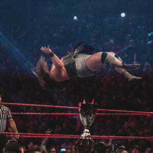 Monday Night Raw wrestling photos by Chris Manning; episodes air Dec. 16 and Dec. 23 13