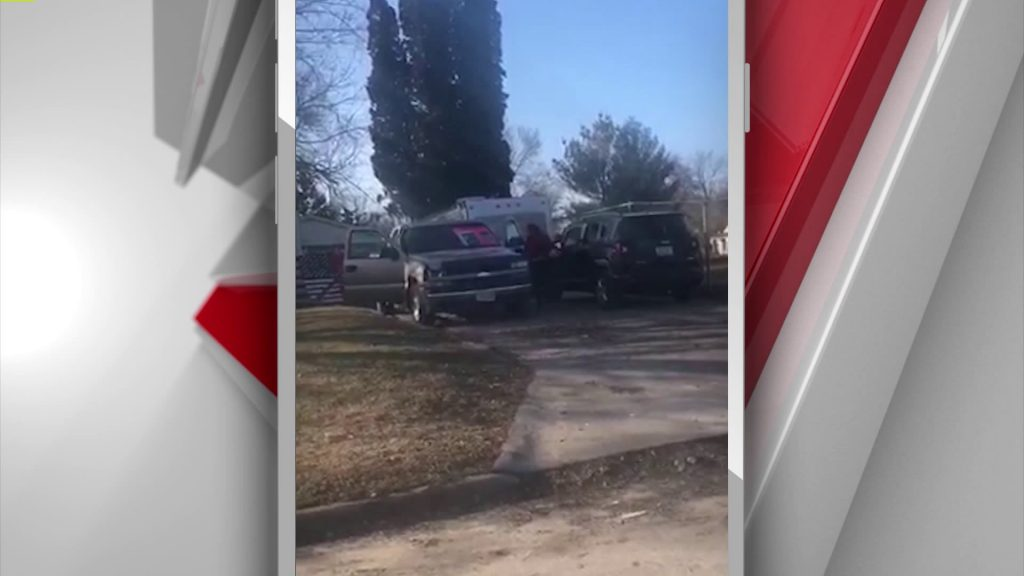 Protest Against Nazi Imagery Sparks Confrontation Outside Des Moines Home 2
