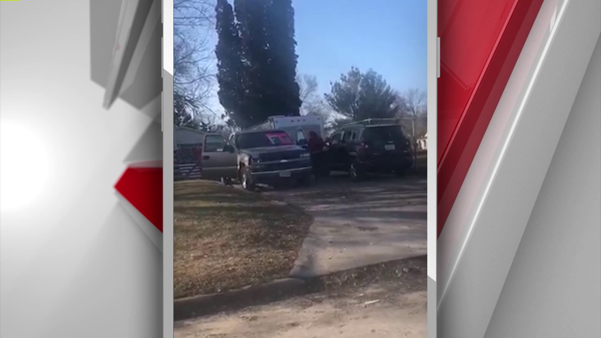 Protest Against Nazi Imagery Sparks Confrontation Outside Des Moines Home 1