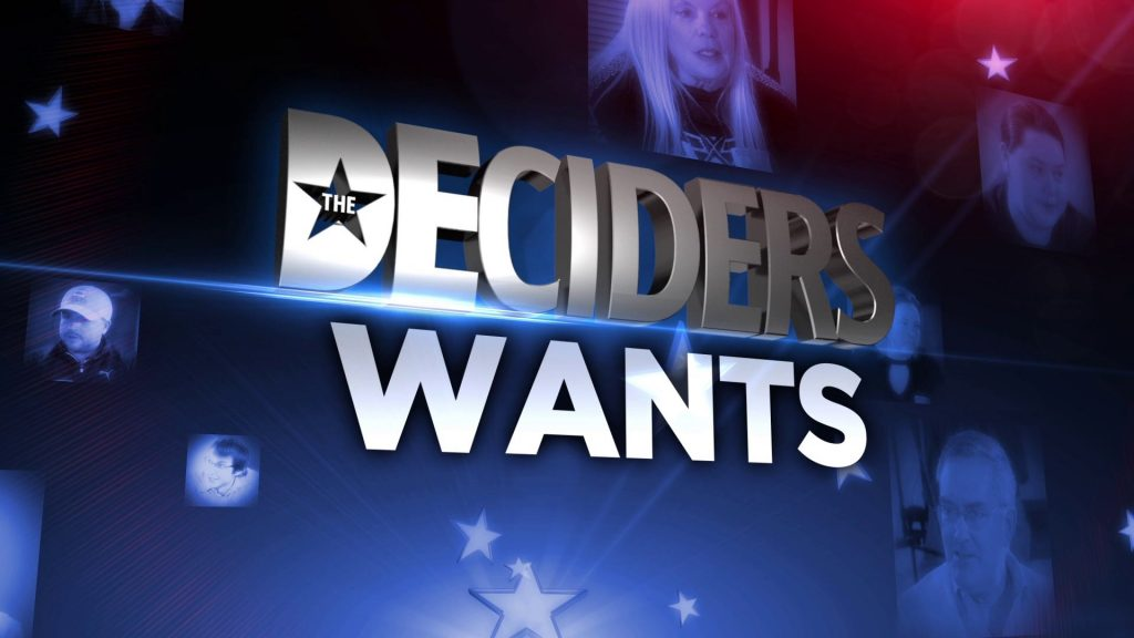 Qualities 'The Deciders' Want Most in a Presidential Candidate 2
