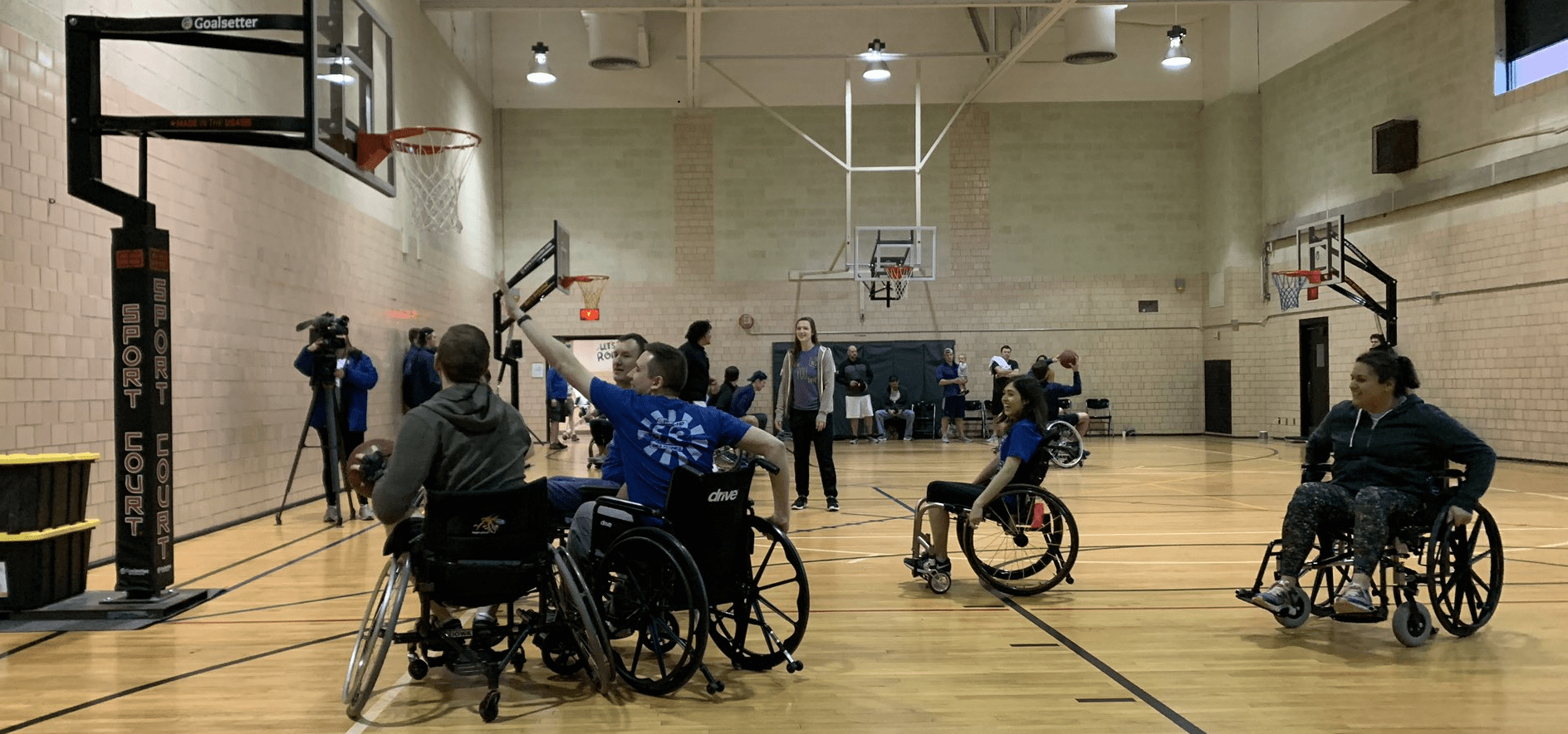 Courage League Sports Nearly Doubles Fundraising Efforts With Wheelchair Basketball Tournament 4