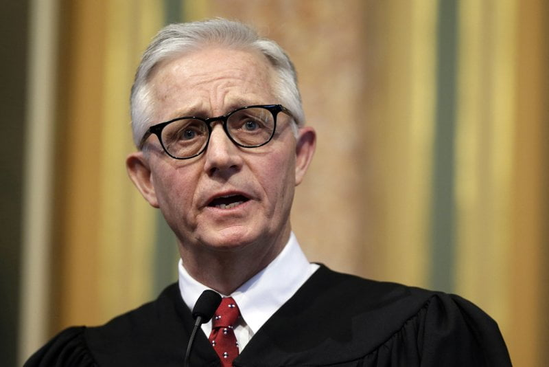 Iowa's chief justice dies unexpectedly Friday 12