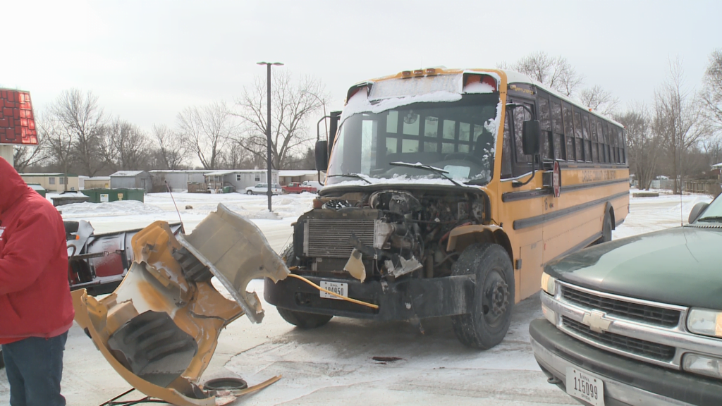 No Injuries Reported When Semi Hits Carlisle School Bus with Students Aboard 2