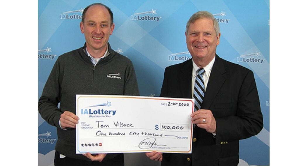 Vilsack wins $150K on Powerball drawing 1