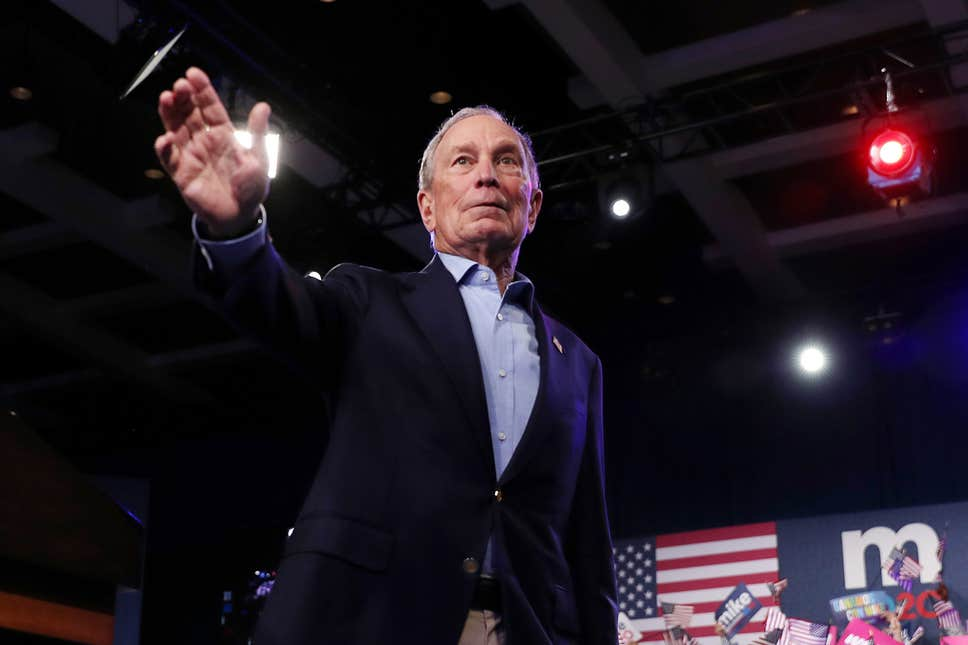 Billionaire Mike Bloomberg Drops Out of Democratic Presidential Race, Endorses Joe Biden 1