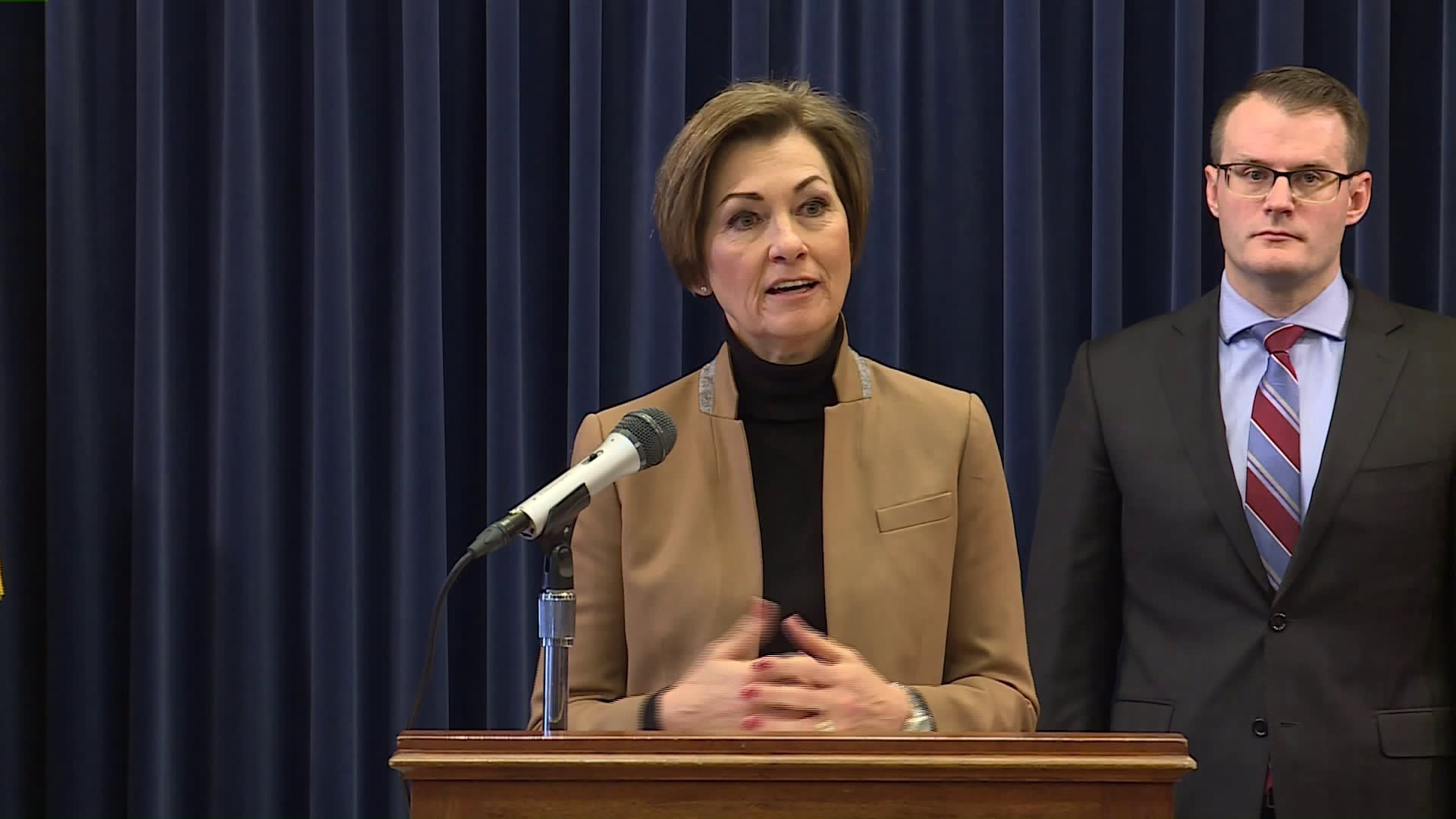 Gov. Reynolds to Hold Monday Briefing on Iowa's COVID-19 Response 1