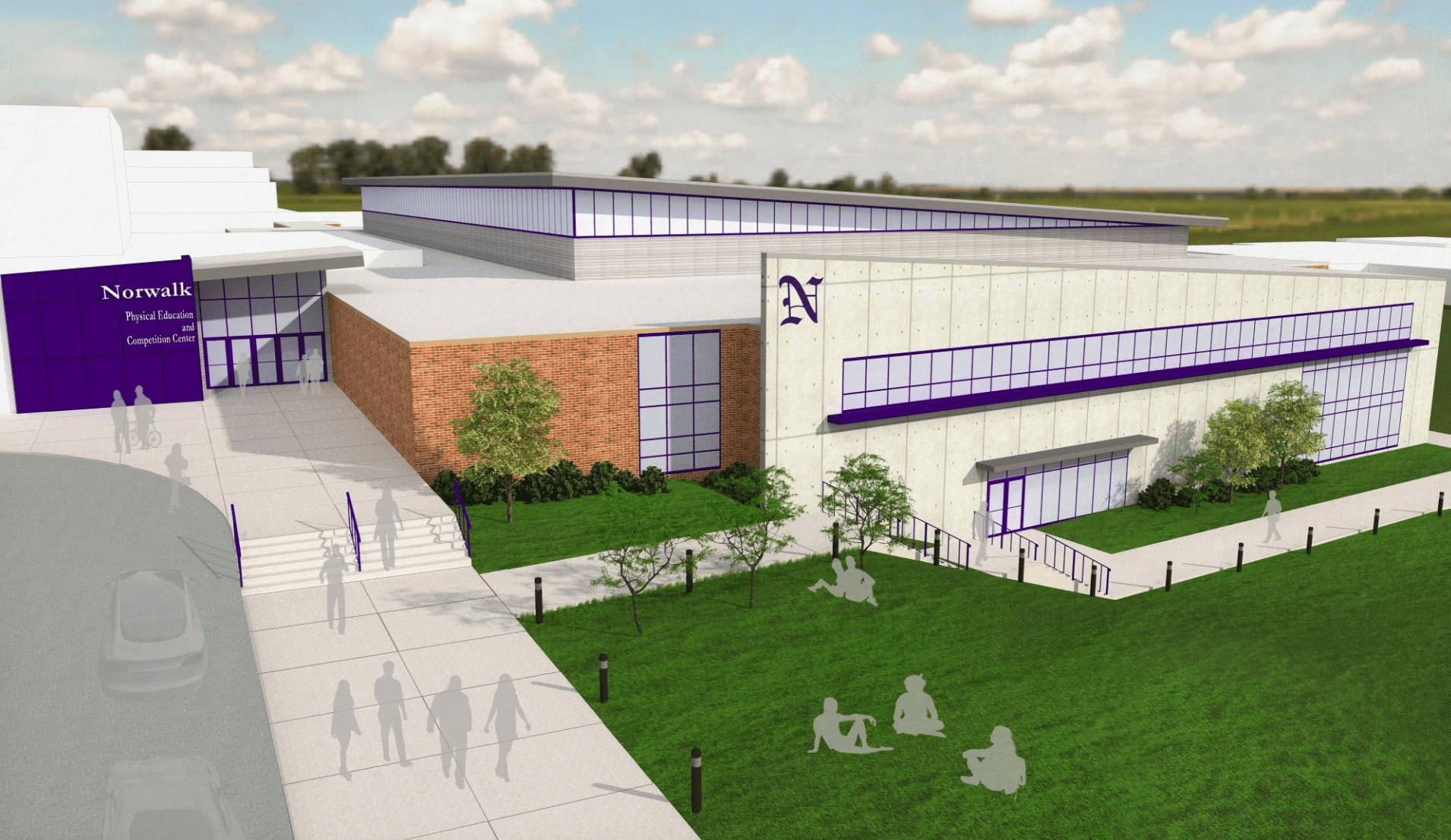 Norwalk Voting on $24 Million Physical Education and Competition Center Tuesday 3