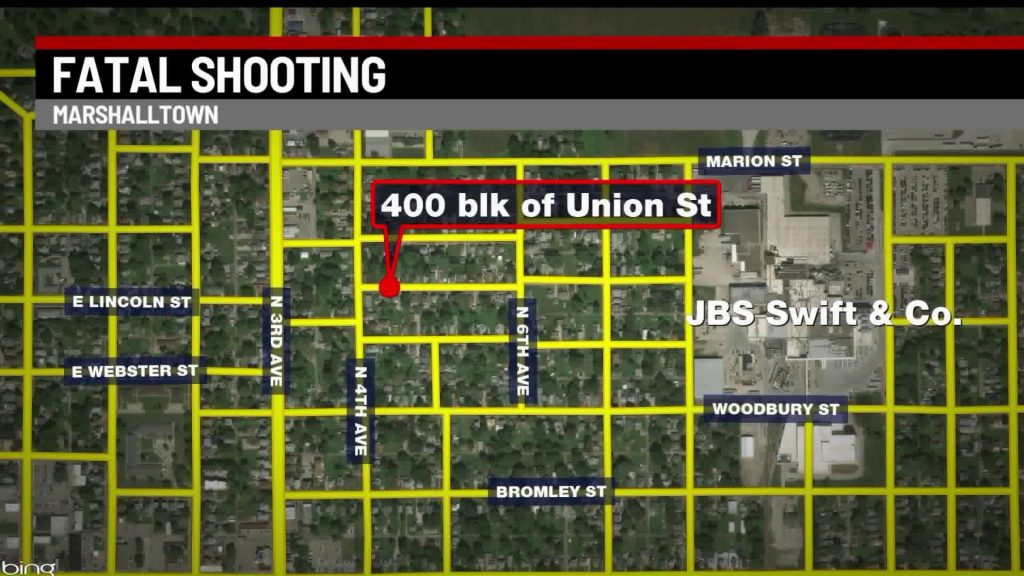 One Killed, One Injured in Marshalltown Shooting 2