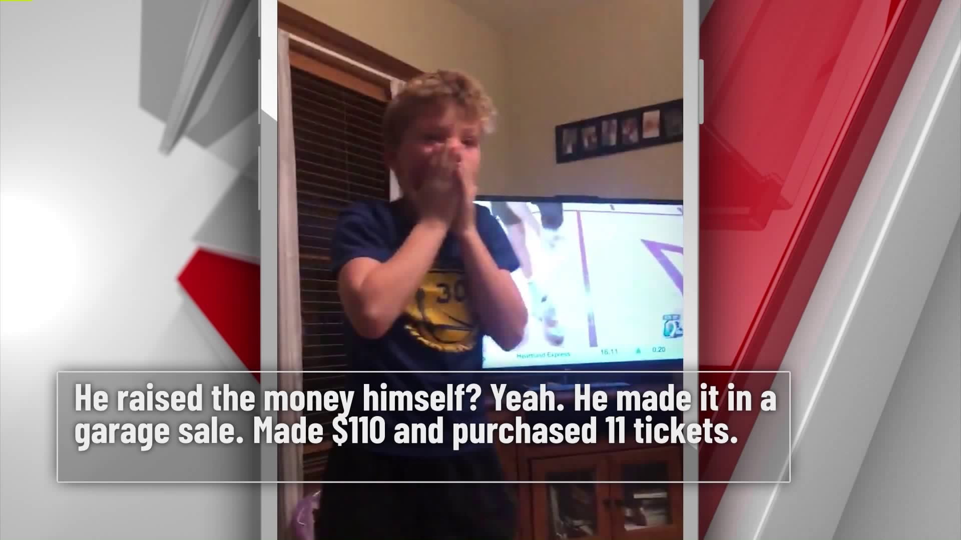 See Iowa Boy's Stunned Reaction to Winning Jordan Bohannon's Shoes 29