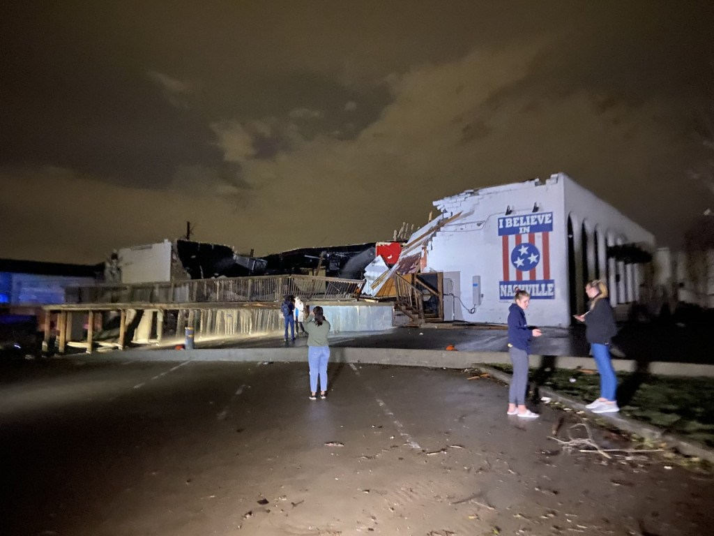 Tornado Rips Through Downtown Nashville; Widespread Damage Reported 5