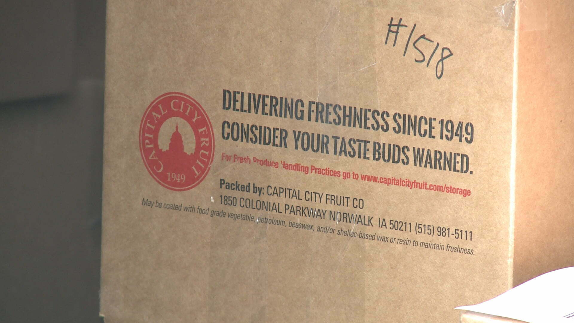 Can't Leave Home? Capital City Fruit Providing Free Next-Day Delivery in Des Moines Metro 2