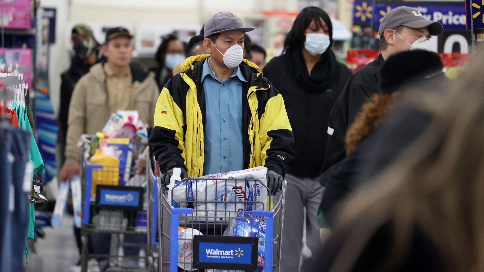 Walmart, Kroger Test One-Way Aisles as Coronavirus Preventative Measure 1