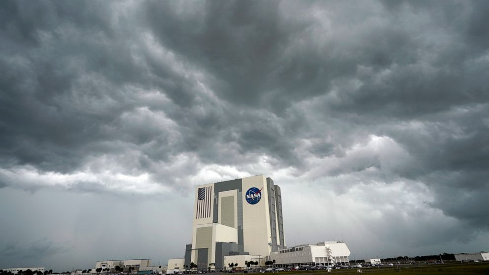 'Bummed out': SpaceX launch scrubbed because of bad weather 9