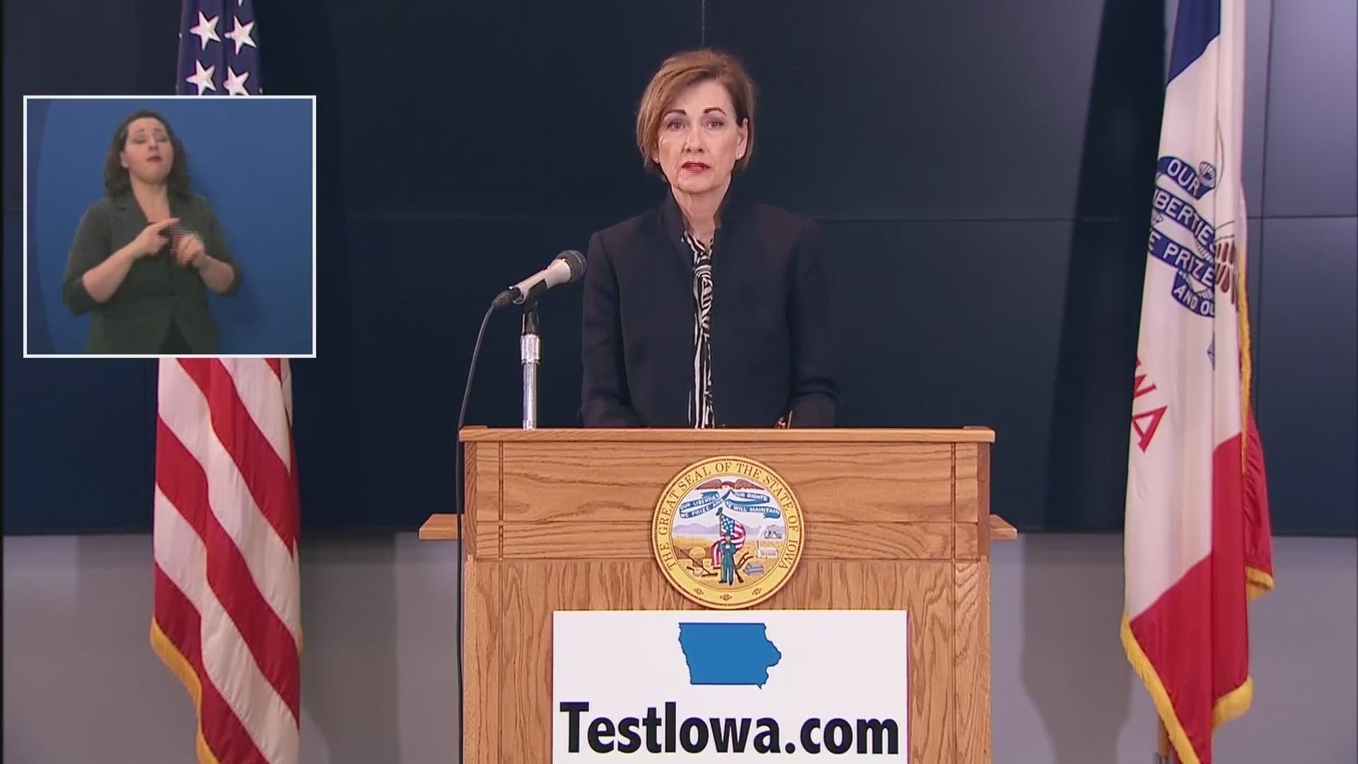 Gov. Reynolds Says TestIowa Results Validated for COVID-19 Testing 5