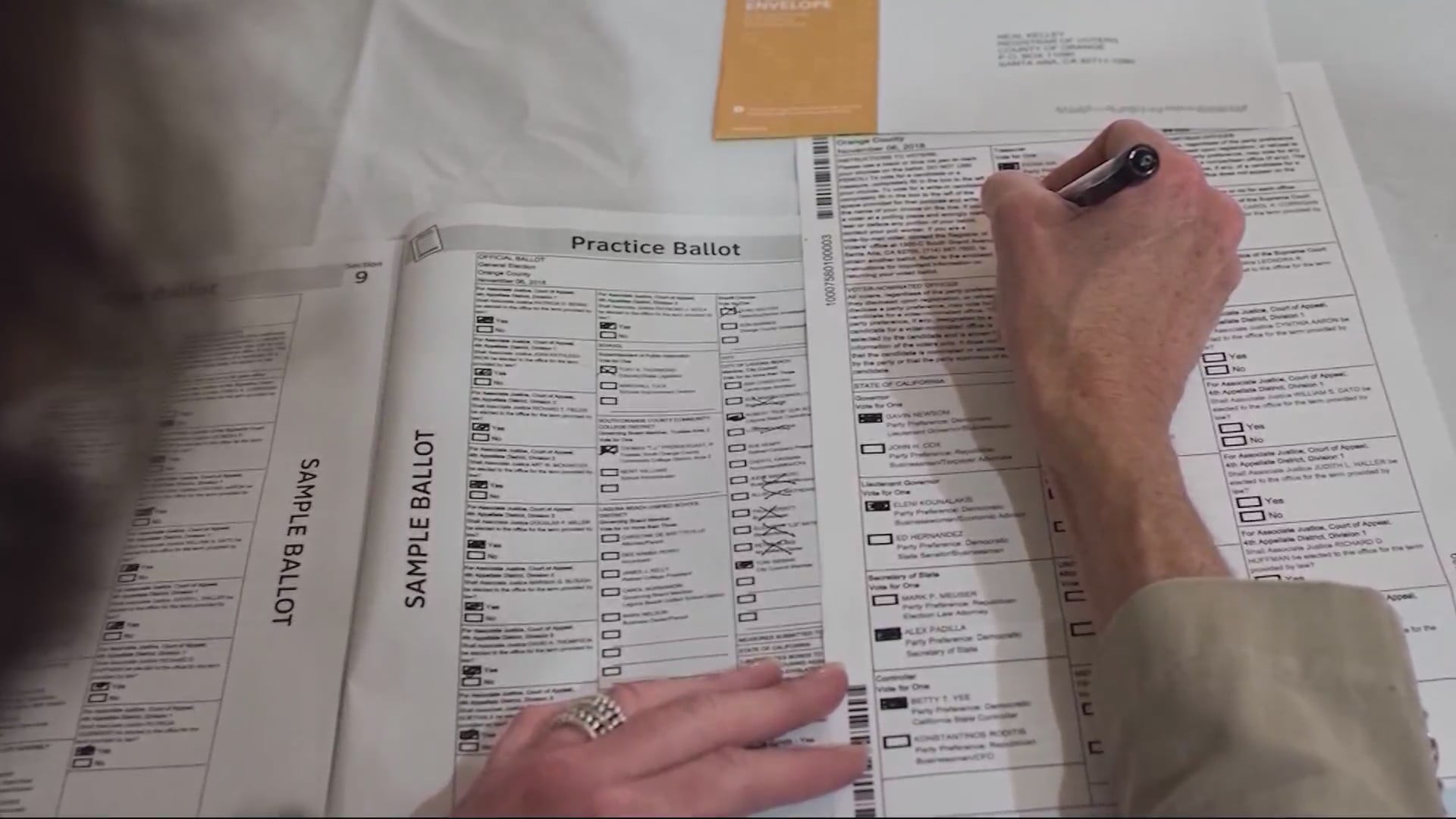 Iowa's Record Mail-in Ballot Numbers Facing Some Republican Criticism 13