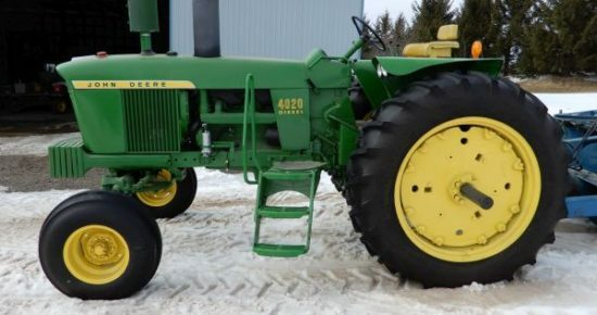 Long Lost John Deere Found on Auction 12