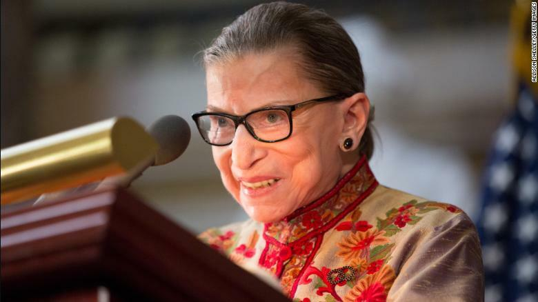 Ruth Bader Ginsburg 'resting comfortably' After Nonsurgical Treatment for Benign Gallbladder Condition 6