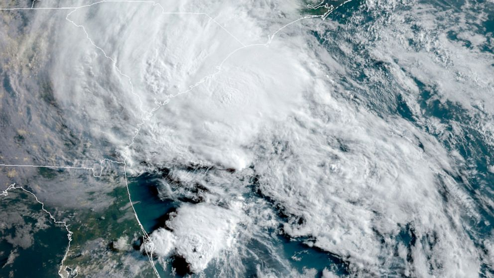 Tropical Storm Bertha Forms Off the South Carolina Coast 4