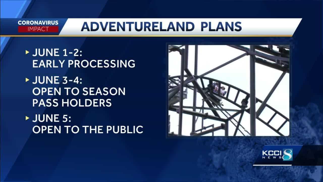 Adventureland Opens Its Gates to Season Pass Holders Wednesday, General Public Friday 3