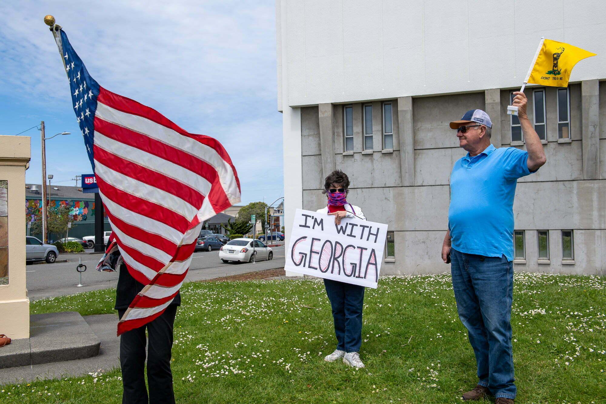 Atlantic's Flag Repairman Stays Busy 1
