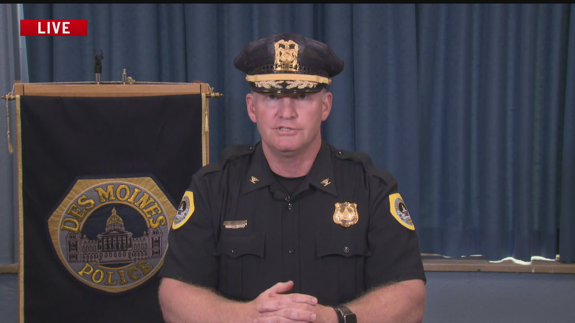 Des Moines Police Chief: Process to Review Complaints 'Works Very Well' 1