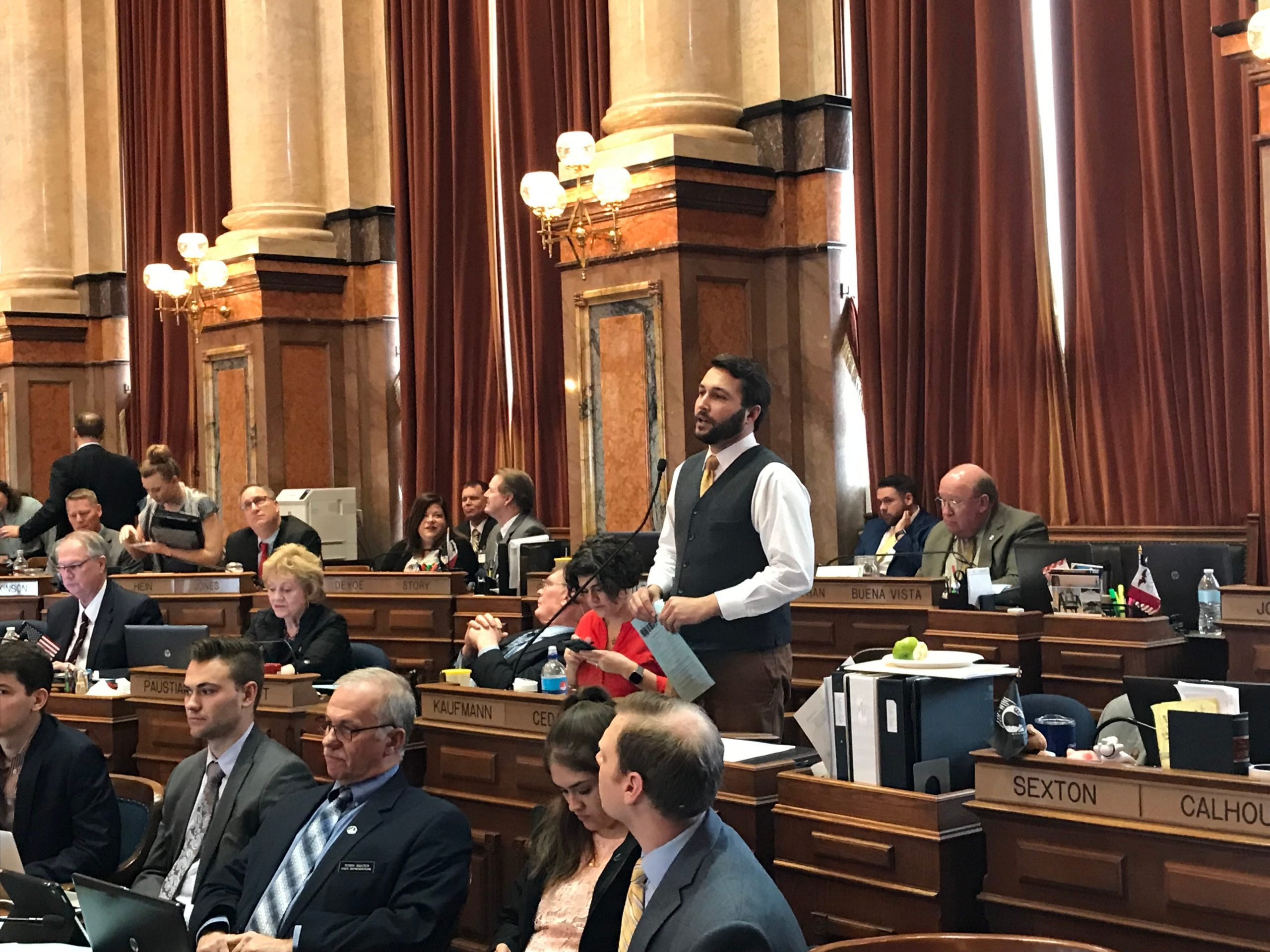 Felon Voting Rights Bill Passes in Iowa House 1