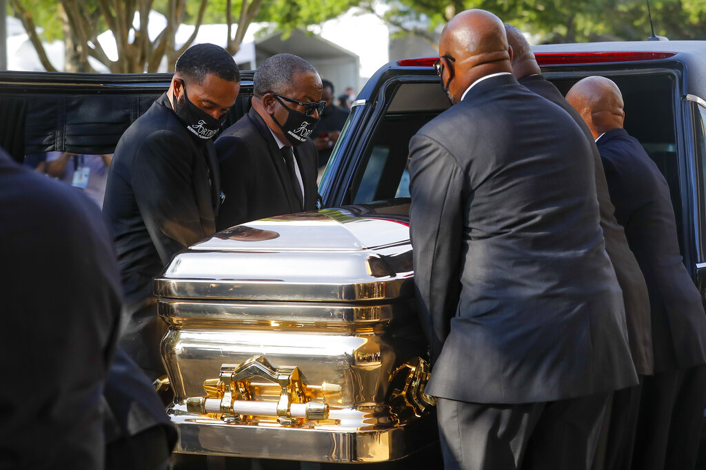George Floyd to be Buried Next to his Mother on Tuesday 1