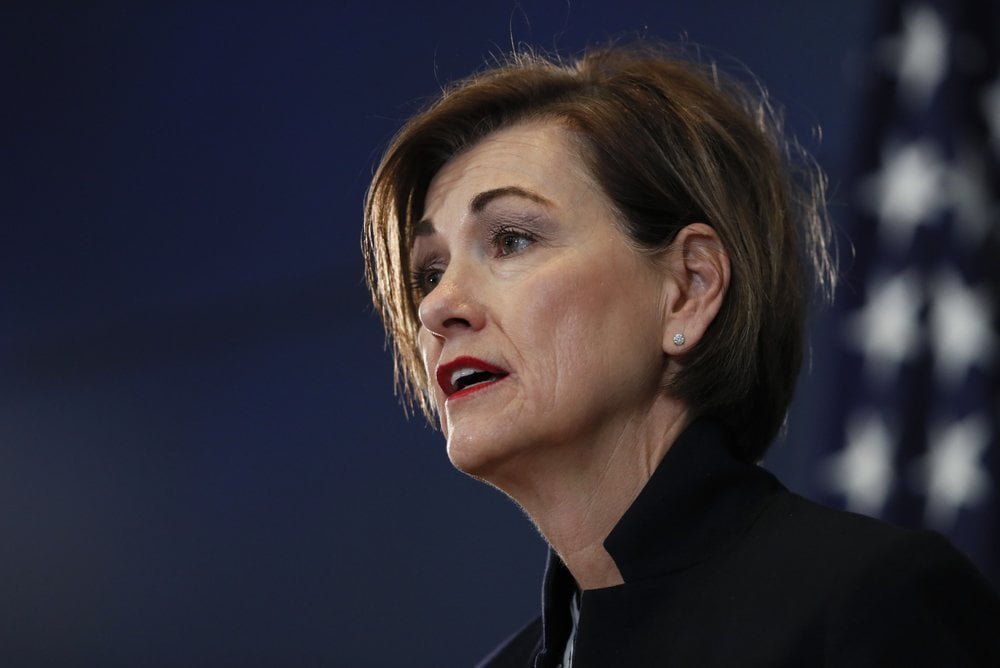 Gov. Reynolds, Local Leaders Holding State Capitol News Conference Monday Afternoon 2