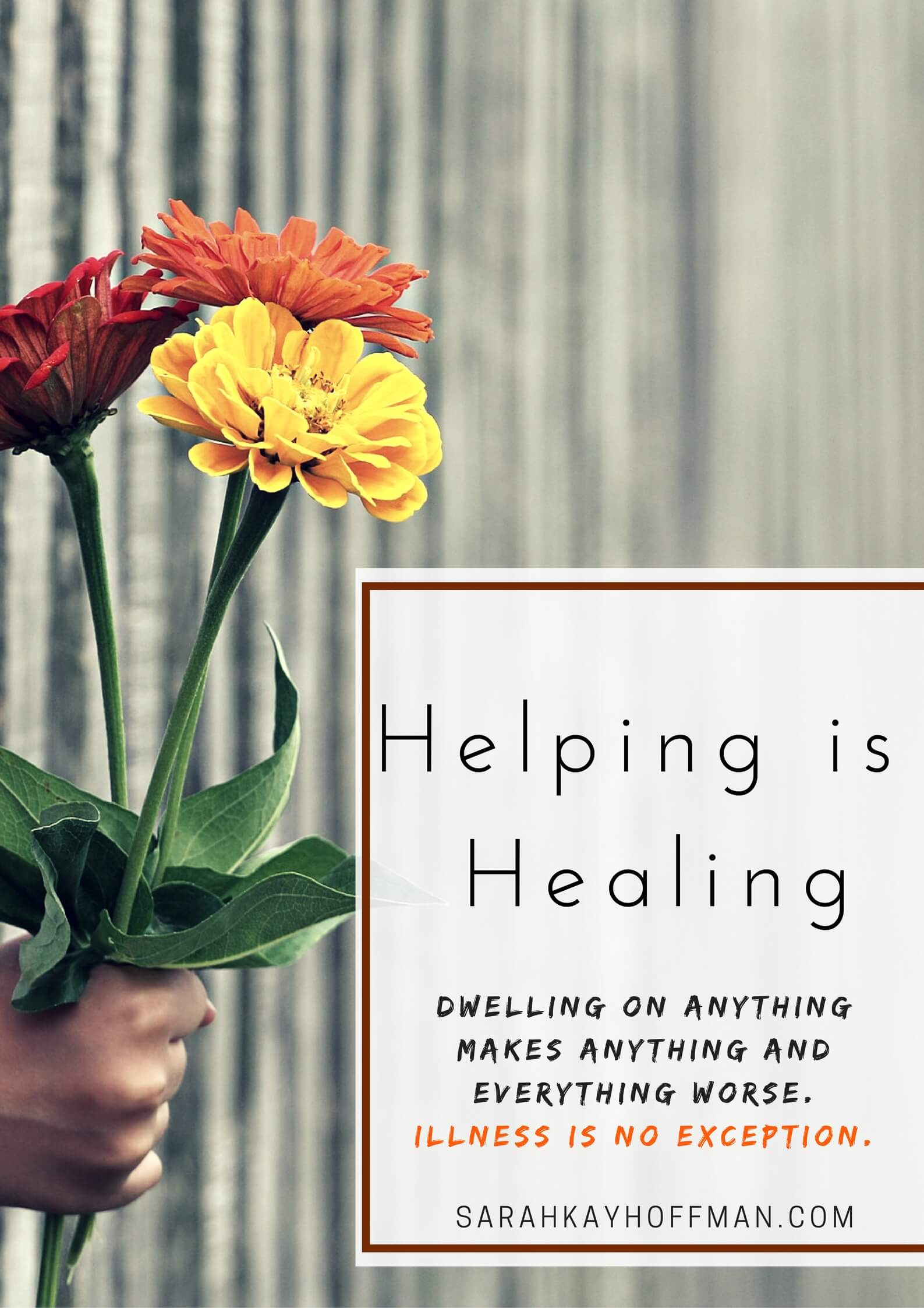 Helping and Healing 1