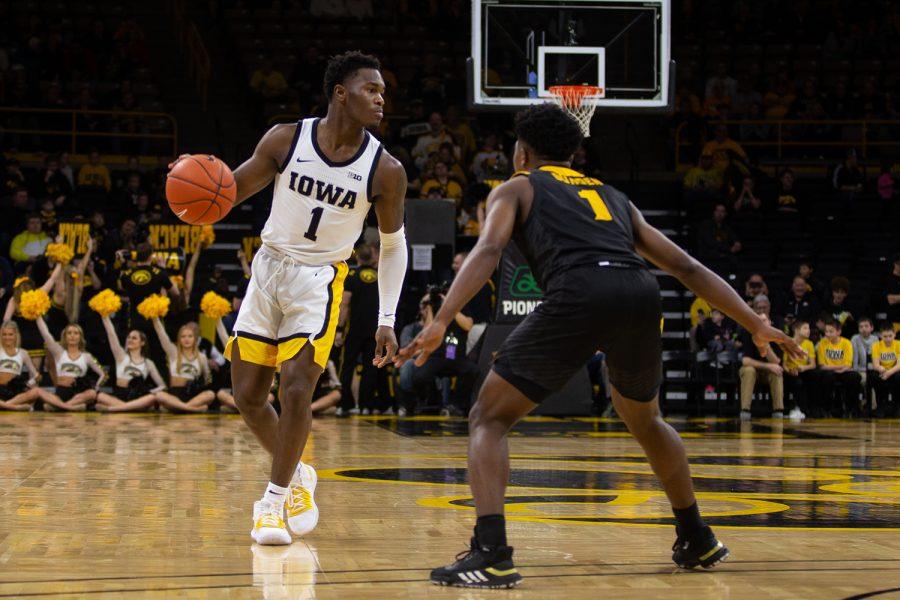 Iowa guard Joe Toussaint ready to build off impressive freshman season 1