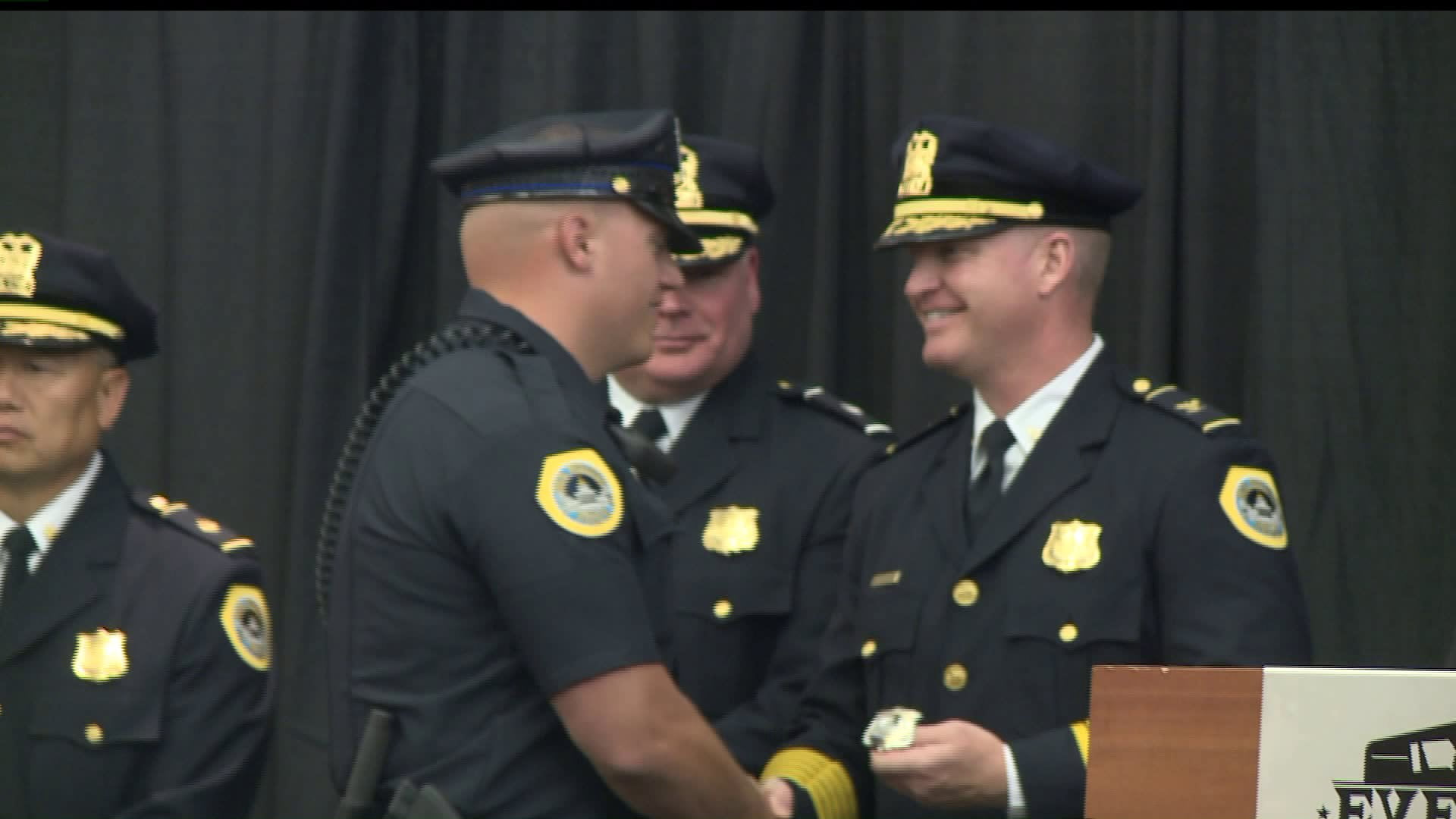 History-Making Promotion Ceremony at DMPD 7