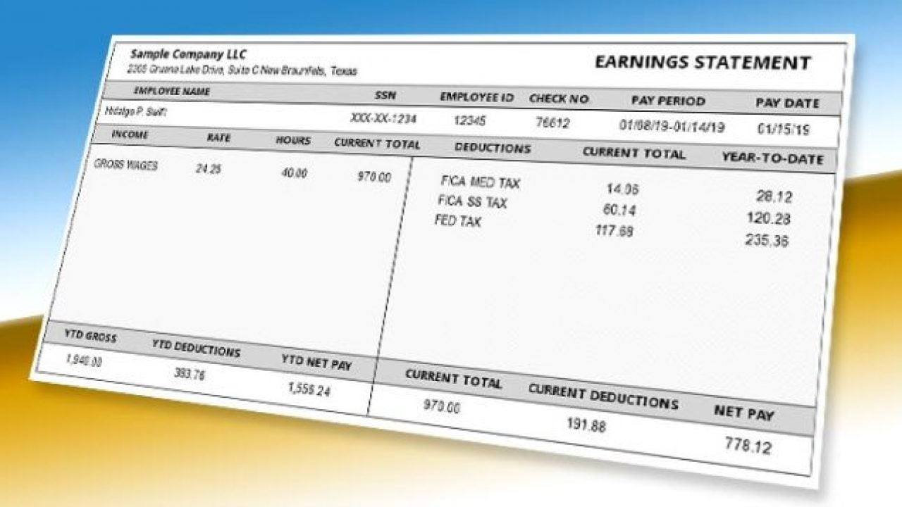 How to Make a 1099 Pay Stub for the Self-Employed 1