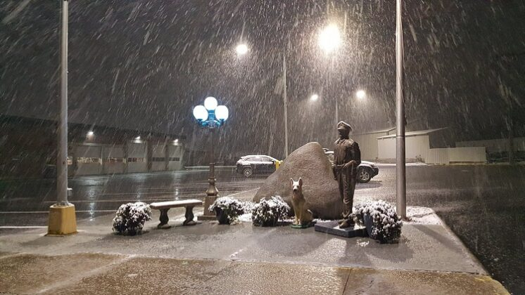 Snow, slush greet Sunday drivers in Perry area 1