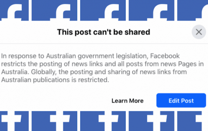 Facebook to Lift its Ban on Australian News After Legislation Change 1