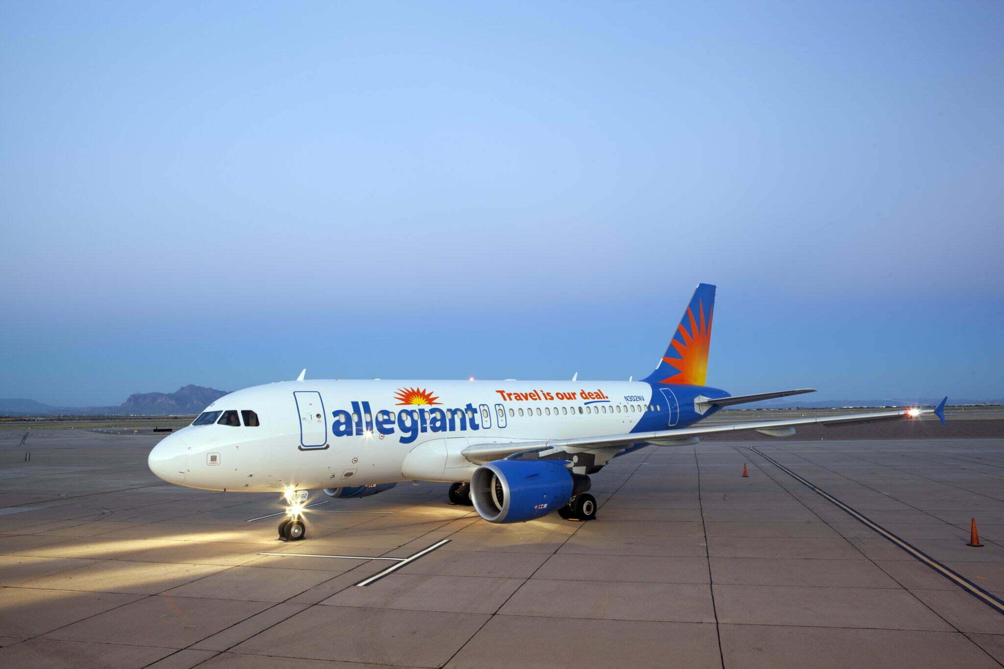 Allegiant's DSM base opens Thursday, four nonstop flights added 5